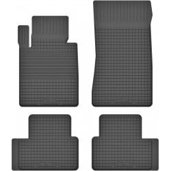 BMW 3 E36 Cabrio / Coupe - dywaniki gumowe korytkowe