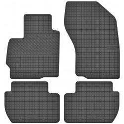 Peugeot 4007 - dywaniki gumowe dedykowane ze stoperami