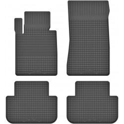 BMW 6 E63/ E64 - dywaniki gumowe korytkowe
