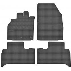 Renault Scenic II - dywaniki gumowe dedykowane ze stoperami