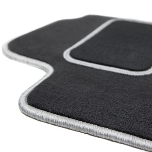 Smart Fortwo III - dywaniki welurowe MOTOPREMIUM