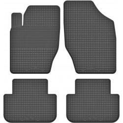 Citroen DS4 - dywaniki gumowe korytkowe