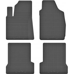 Fiat 500 - dywaniki gumowe korytkowe