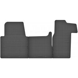 Renault Master III - dywaniki gumowe dedykowane ze stoperami
