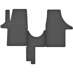 VW T5 - dywaniki gumowe dedykowane ze stoperami
