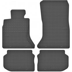 BMW 5 F10 / F11 - dywaniki gumowe dedykowane ze stoperami