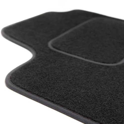 MOTOLUX velor floor mats with trimming