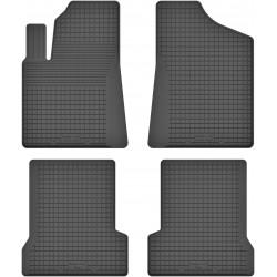 Fiat Seicento - dywaniki gumowe korytkowe