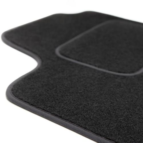 MOTOLUX Velours-Fußmatten mit Besatz