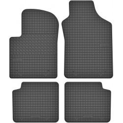 Fiat 500 - dywaniki gumowe dedykowane ze stoperami