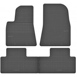 Tesla 3 - dywaniki gumowe dedykowane ze stoperami