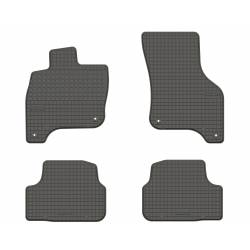 VW eGolf- dywaniki gumowe dedykowane ze stoperami
