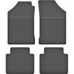 Hyundai Lantra II - dywaniki gumowe korytkowe