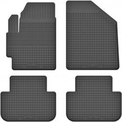 Kia Carens II - dywaniki gumowe korytkowe
