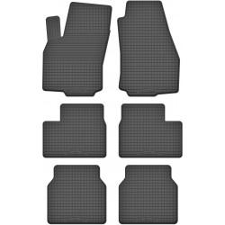 Opel Zafira B (7 OSÓB) (2005-2011) - dywaniki gumowe korytkowe