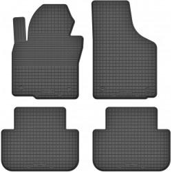 Volkswagen Touareg I (2002-2010) - dywaniki gumowe korytkowe