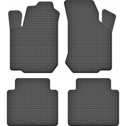Rubber floor car mats
