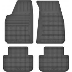 Audi 100 C3 - dywaniki gumowe korytkowe